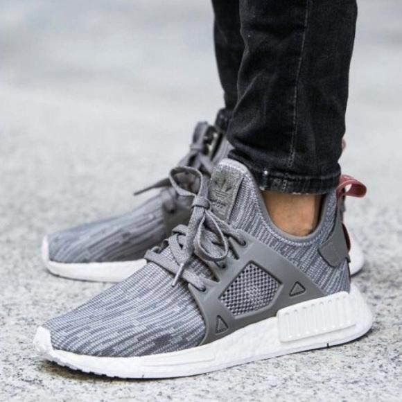 Adidas Shoes Nmd Xr1 Primeknit Grey Size 10 Poshmark